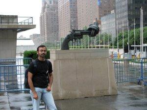 At UN Building