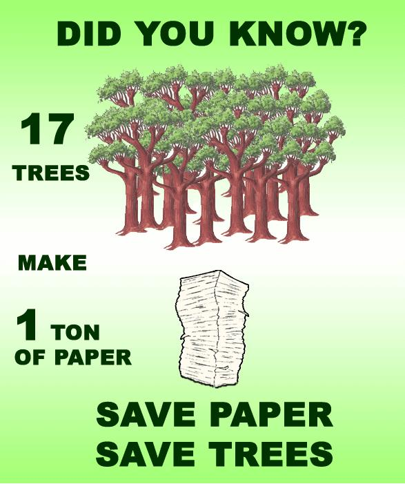 save water save paper save earth varun s weblog grow trees